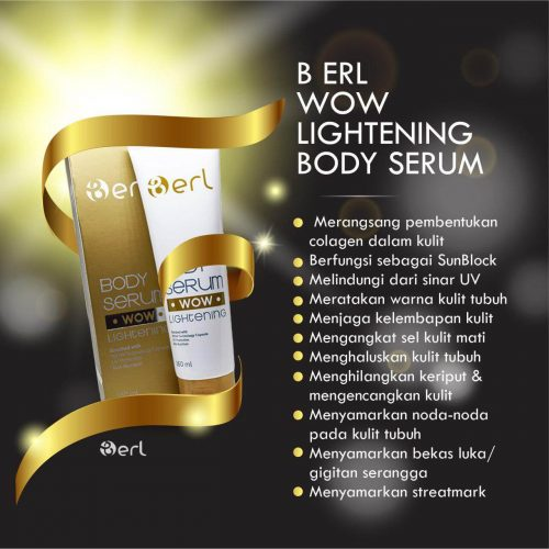 WoW LITHENING BODY SERUM