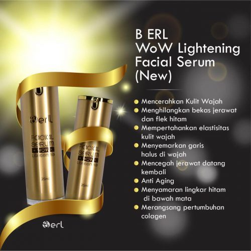 WoW LIGTHENING FACIAL SERUM